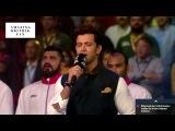 Hrithik Roshan singing National Anthem at Pro Kabaddi Final HD