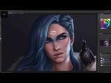 Dreamfall Chapters: Saga | Digital Painting Process