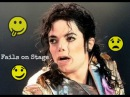 Michael Jackson 1 Stage Fails Funny - Angry - Bloopers - Awkward Rare Footage Collection