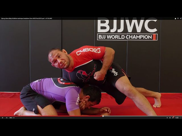 Cyborg Abreu ADCC No Gi Technique Breakdown vs Marcus Buchecha Cow Catcher Guillotine