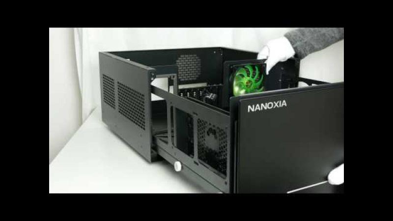 Ausgepackt angefasst [4K]: Premium-Schubladengehäuse Nanoxia Project S