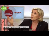 Marine LE PEN face