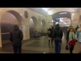 Постановка на на станции Техноложка Спб 03.04.2017 - улучшен цвет, контраст