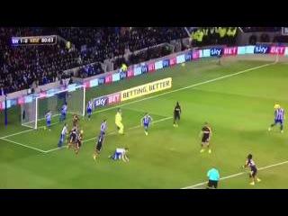 Mohamed Diamé Goal! (Brighton 1-2 Newcastle United)