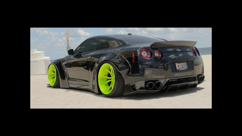 IN LOVING MEMORY OF DOM HIS ARMYTRIX NISSAN GT-R R35 LIBERTY WALK