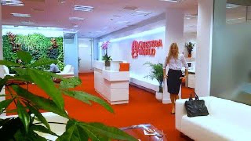 Обзор офиса компании Questra World в Испании в городе Мадрид - 13.12.2016
