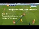 Ways to create space as a Midfielder Xavi Silva Iniesta Jack Wilshere