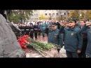 Проект 60sec №560. Возложения цветов к памятникам «Пожарным и спасателям» и «Ветеранам МЧС России