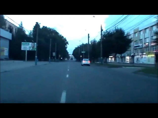 Погоня ДПС за мотоциклистом / Блокбастер