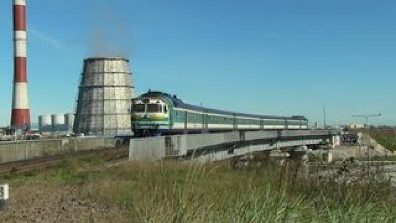 Дизель поезд ДР1А первый раз нa Мууга Лагеди Маарду Мууга DR1A first time to Muuga