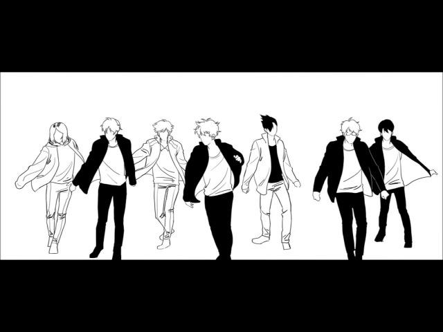 Haikyuu!! BTS- Blood Sweat and Tears (하이큐로 피땀눈물!!)...2