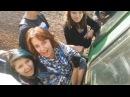 Девушки-зацеперы катаются и шатают пантач на Киевском направлении МЖД / ДЦПЧ conten...