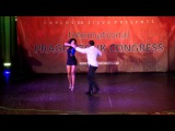 Carlos &amp Fernanda Da Silva Brazilian Zouk Freestyle Dance Show Prague Zouk Congress, March 2014