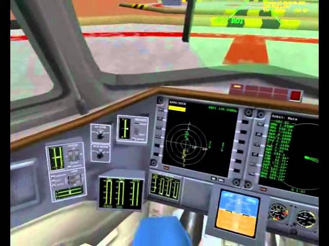 Orbiter Space Flight Simulator - Геймплей (SpaceGameRu)