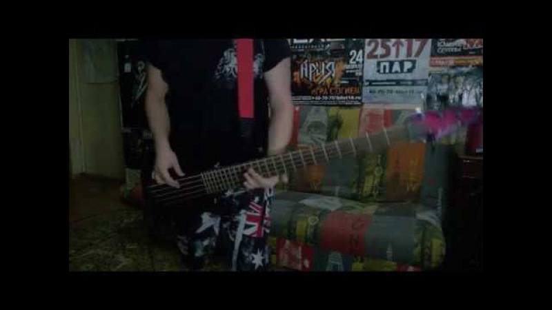 Lostprophets - Wake Up (Make a Move) (Bass cover)