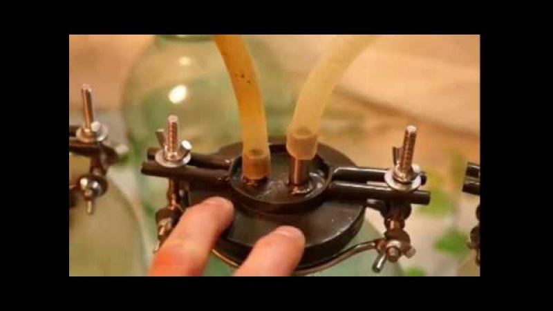 Многоступенчатая дистилляция основы и работа с электронным спиртометром