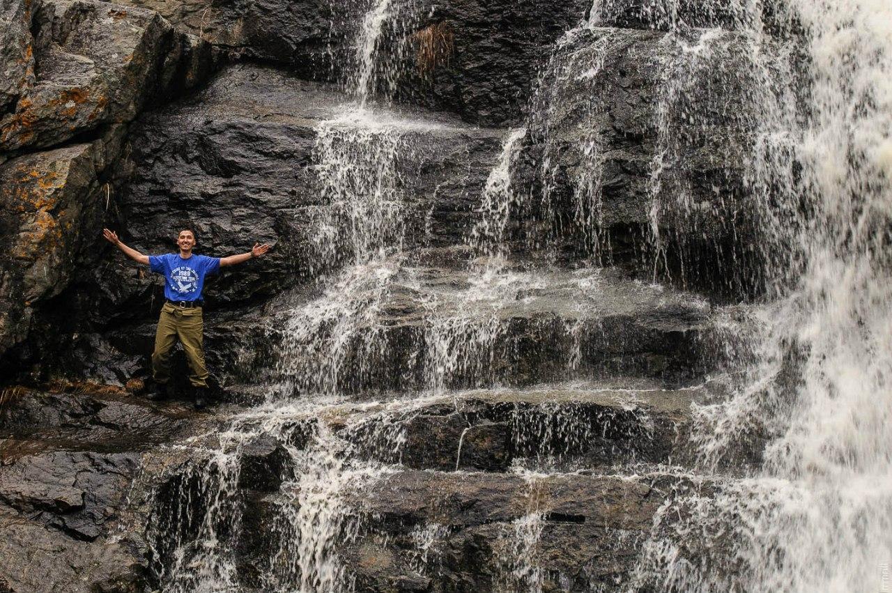 У водопада Гадельша
