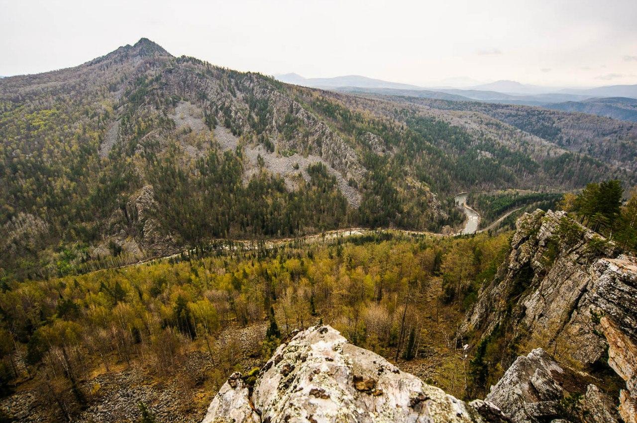 Долина реки Малый Инзер