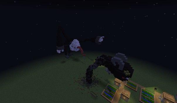 [Карта][1.8-1.9] Чёрно-белый монстр!