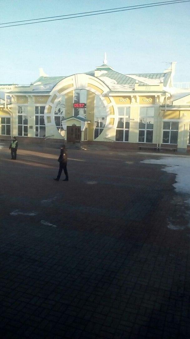 Станция Иссыкуль - граница с Россией