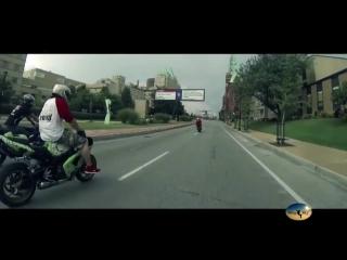 Подборка лучших трюков на спорт байках! A selection of the best stunts on a sport bike!