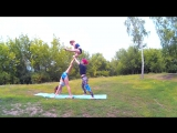 Акробатика на природе