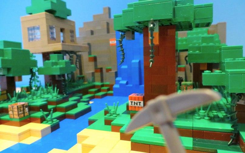 Как сделать лего майнкрафта мир фото 653