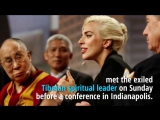 China 'bans Lady Gaga' after Dalai Lama meeting