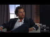 Matthew McConaughey Jeff Bridges - Actors on Actors #topnotchenglish