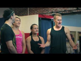 NINJA QUICKIE Jessie Graff, Drew Drechsel, Erica Cook!