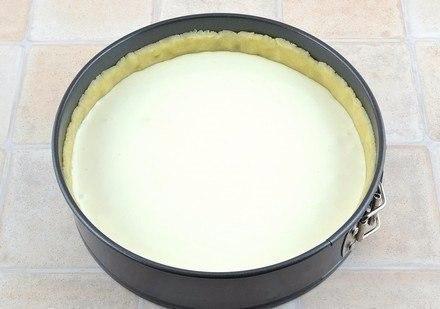 Творожный пирог с персиками. Нежнейший пирог с творогом