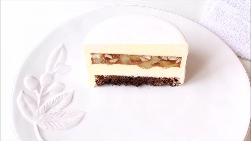 Муссовый грушевый торт - Pear Mousse Cake