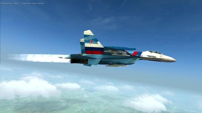 DCS-W Су-27 полеты в стратосфере