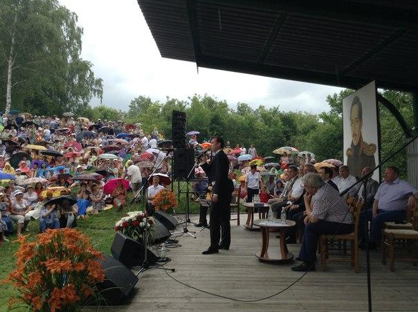 2 июля 2016 г, XLV Всероссийский Лермонтовский праздник, Тарханы, Пензенская область (фото) MAynFXMu3LY