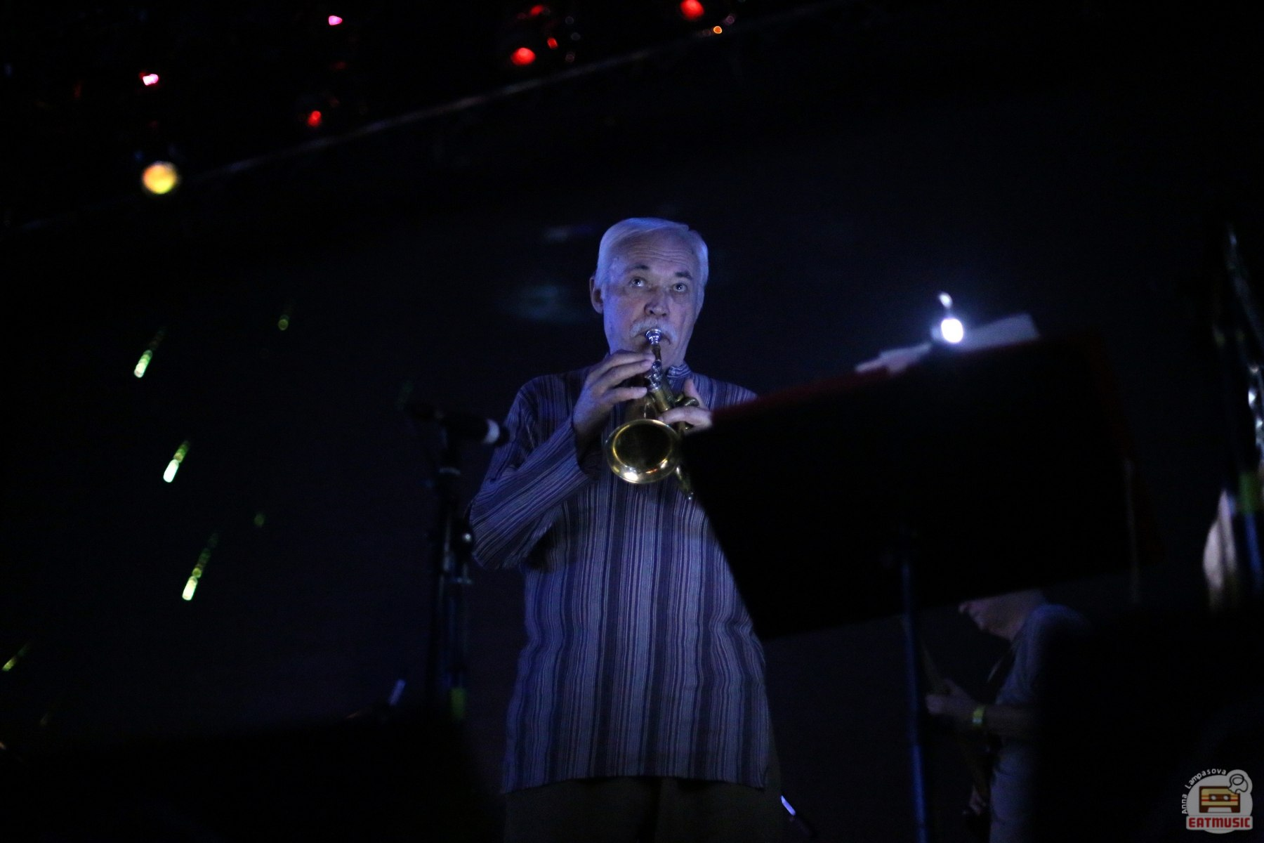 Презентация альбома АукцЫон - На Солнце в московском клубе Yotaspace