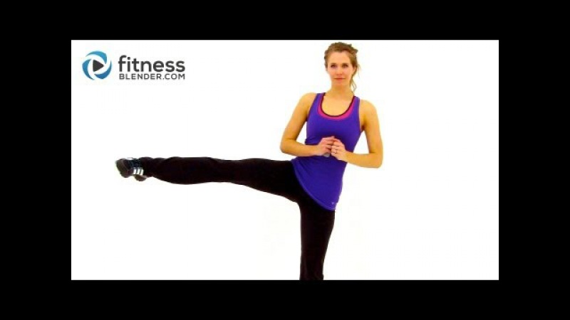 At Home High Intensity Interval Training Cardio HIIT Workout with Fitness Blender