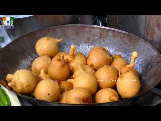 RARE STREET FOOD |  TOMATO BAJJI | 4K VIDEO | ULTRA HD VIDEO