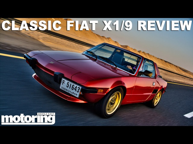 Fiat X1/9 - Uno Turbo conversion in Dubai