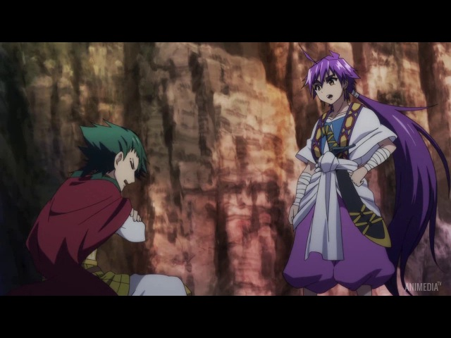 Magi: Sinbad no Bouken / Маги: Приключение Синдбада - 3 серия | Nazel Revi_Kim [AniMedia.TV]
