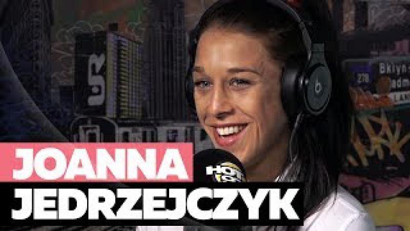Joanna Jedrzejczyk, UFC Strawweight Champion, On Ronda Rousey Beating Andrade