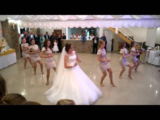 Evelin és Gyula koszorúslány tánc 2015.11.03 best bridesdance 2015