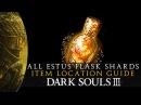 Dark Souls 3 - All Estus Flask Shards Upgrade Location Guide