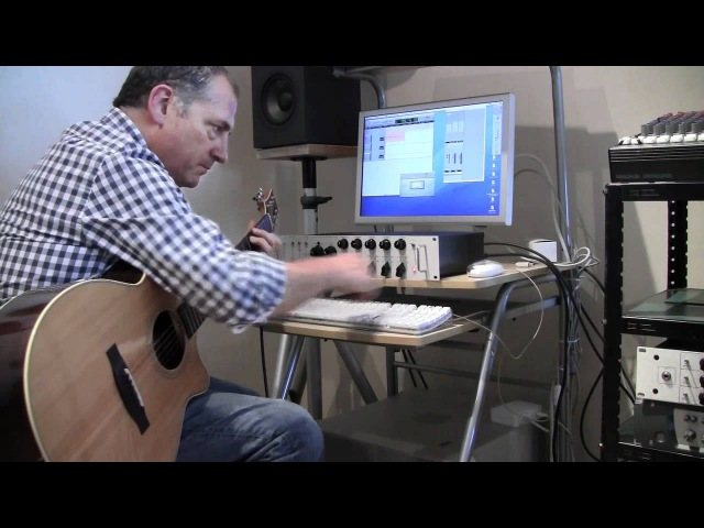Chuck Loeb plays Acoustic Guitar with Studio Channel