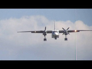 Посадка Ан-26 RA-26081