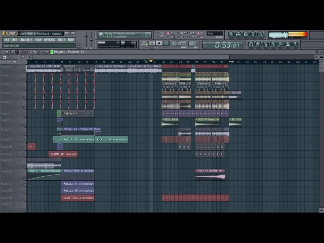 Joey Dale Pitchback - Crowd Control FL Studio Remake (FREE FLP)