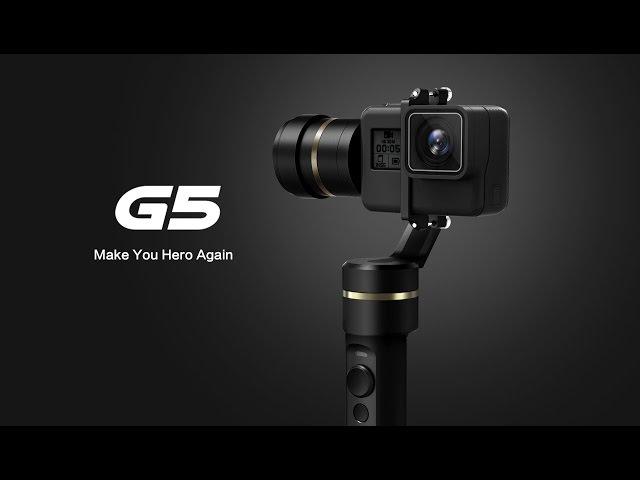 G5, the World's First Splash-proof HERO5 Gimbal | Feiyu Tech