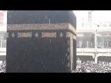 Snow Rain in Haram-e-Kaaba on 12-5-2014
