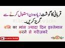 Eid ul Adha Qurbani Gosht Tips Meat Preserving Tips in Hindi Urdu قربانی کا گوشت محفوظ