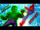ХАЛК против ЧЕЛОВЕКА ПАУКА деремся с Кириллом в игре про супер героев Ultimate Marvel vs ...