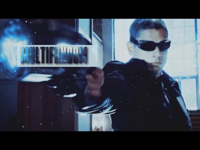 Multifandom II Музыкальная нарезка (Стрела,Флэш, Супердевушка, Легенды Завтрашнего Дня)